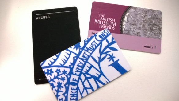 Vasakult: Design Museum, V&A, British Museum